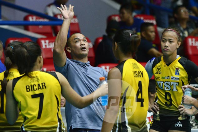 Kungfu Reyes says loss to Customs a wake-up call for UST to keep improving despite early success