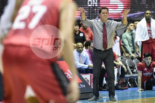 Tim Cone believes TNT a lot more dangerous after loss to RoS in debut