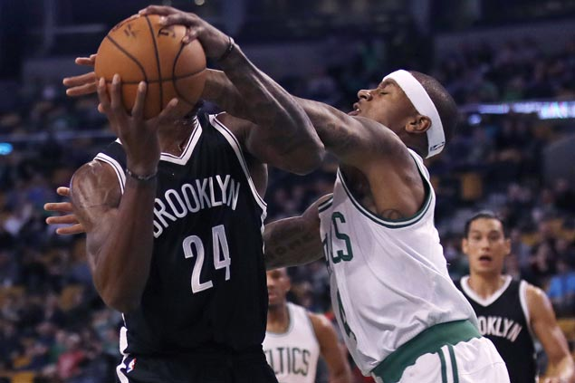 Celtics make it five straight wins as Thomas goes perfect from field in rout of Nets