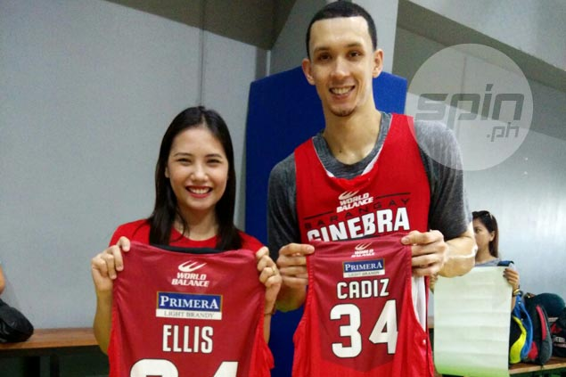 Marge Cadiz living a dream as Ginebra fan sings at Big Dome, gets personalized jerseys