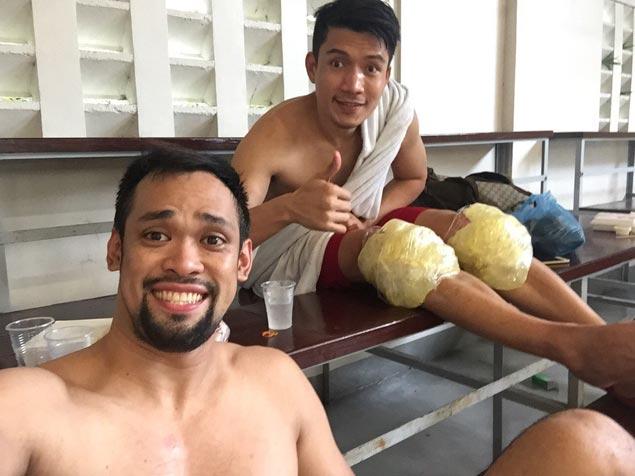 In most uncertain time, Jerwin Gaco grateful he has true friend in James Yap