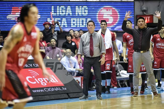 Ginebra must play its best basketball to survive Meralco fightback in Game Six, says Cone