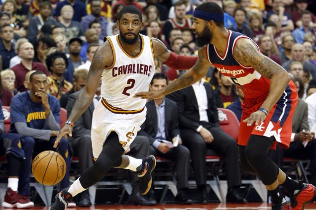 Kyrie Irving joins list of players dealing with aches and pains ahead of season opener