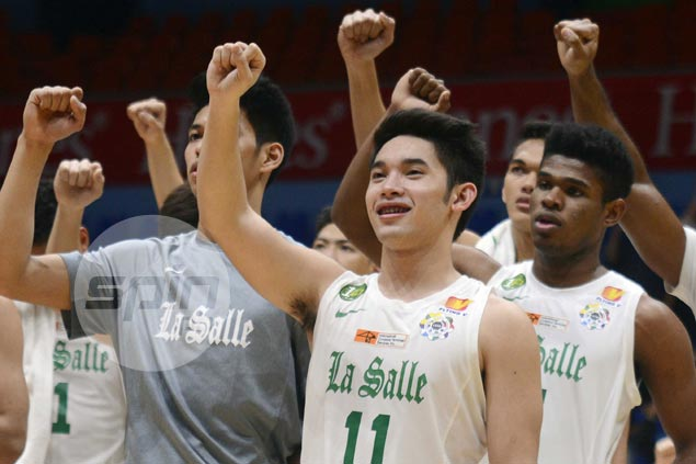Aljun Melecio finds his confidence as La Salle moves four wins away from elims sweep
