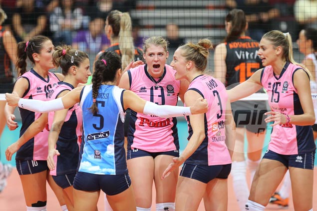Pomi Casalmaggiore stays alive, wins five-set stunner over Rexona Sesc in FIVB World Club tilt