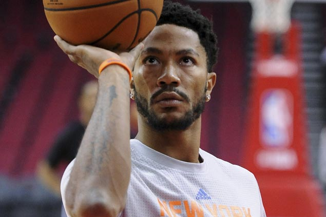 Derrick Rose out to regain elite point guard status: 'It's only a matter of time'