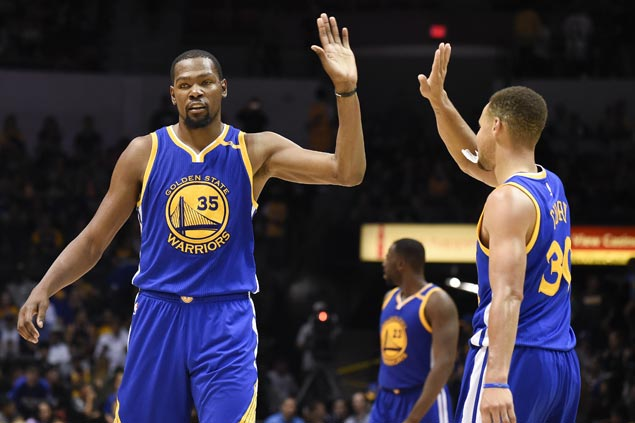 Title favorites Cavaliers, Warriors battle rejigged rivals in must-watch NBA opening games