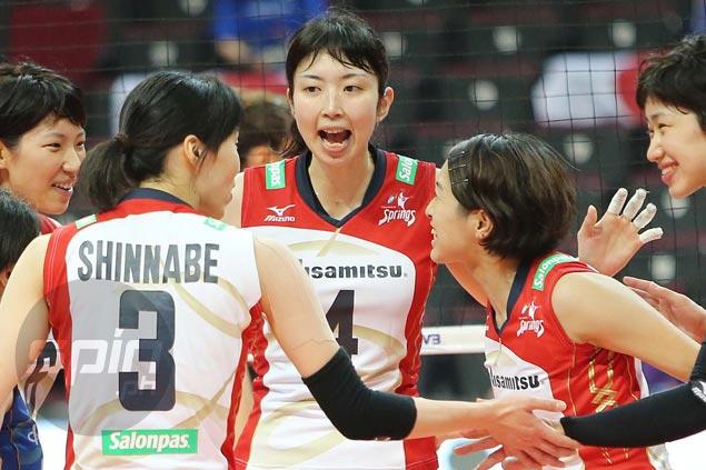 Also-ran Hisamitsu Springs scores first win, dashes Kobe-Bangkok Glass' bid for semis spot