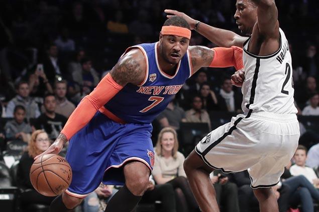 New York rips Brooklyn as Knicks send Nets to fifth straight loss in preseason finale