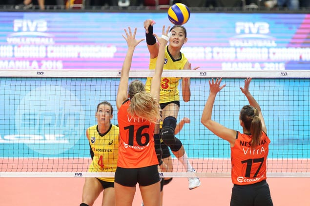 PSL-F2 Logistics Manila gives Eczacibasi Vitra Istanbul a scare before bowing in four sets