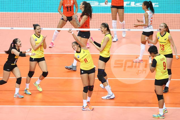 Surreal feeling as Jaja Santiago and Co. snatch a set from reigning World Club champs