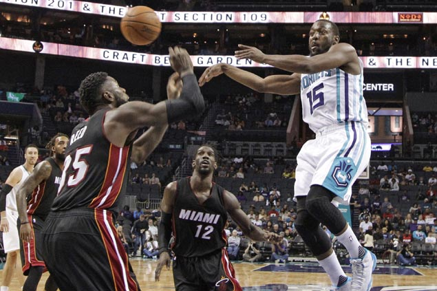 Charlotte holds off Miami reserves as Hornets roll to third straight preseason win