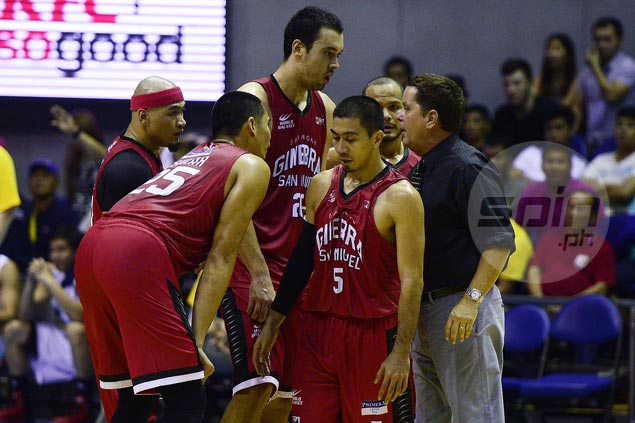 Bracing for slim pickings in rookie draft, Tim Cone focusing on keeping Ginebra core intact