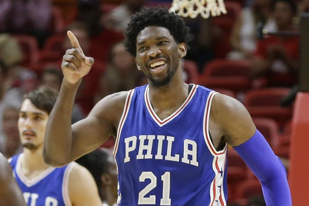 Philadelphia 76ers end five-game skid, hand Heat second straight loss