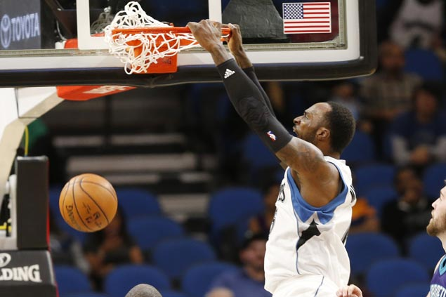 Timberwolves score 35-point victory, ending Hornets' three-game win run