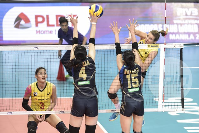PSL-F2 Logistics Manila bows to Hisamitsu Springs Kobe to fall to battle for seventh in FIVB tilt