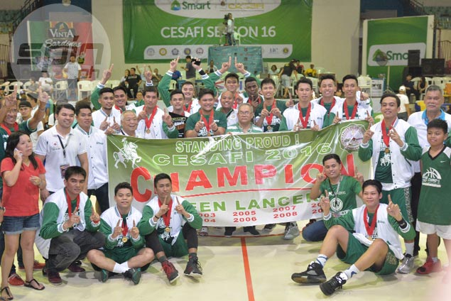 UV Green Lancers pull away late to dethrone USC Warriors and claim Cesafi crown