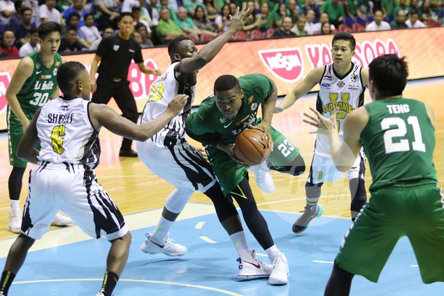 La Salle stretches unbeaten run to 11, secures twice-to-beat semis berth with rout of UST Tigers