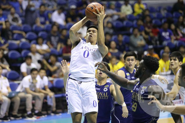 Ateneo Blue Eagles tighten grip on third spot, deal NU Bulldogs fifth straight loss