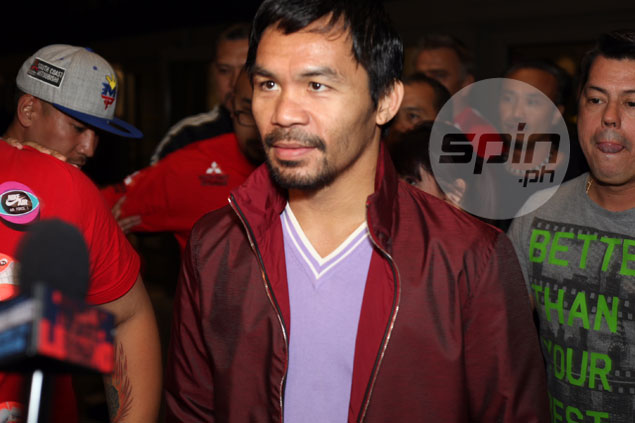 Freddie Roach says Pacquiao will make most of cramped US training for Vargas fight