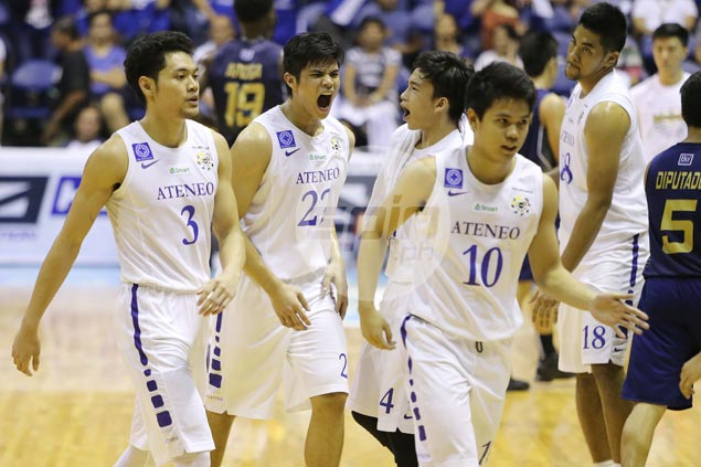 Defensive-minded Ateneo rookie Raffy Verano shows he can be a force on offense as well
