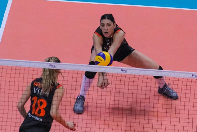 Sweet repeat for Turkish side Eczacibasi VitrA Istanbul in FIVB Manila showpiece