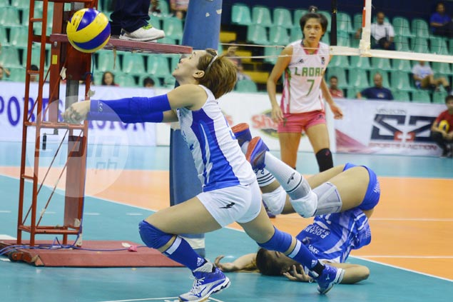 Pocari Sweat makes short work of Laoag for fourth straight win in V-League