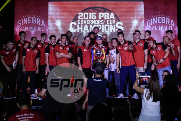 Ginebra looks ahead to well-deserved vacation after another round of celebration