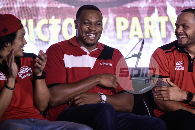 Justin Brownlee: 'Honestly, I don't wanna play anywhere else besides the Philippines'