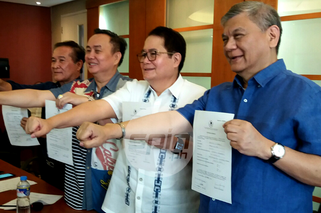 Ricky Vargas steps up to challenge 12-year reign of POC chief Peping Cojuangco