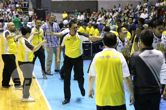 UAAP set to review Tigers coach Boy Sablan's statements criticizing referees