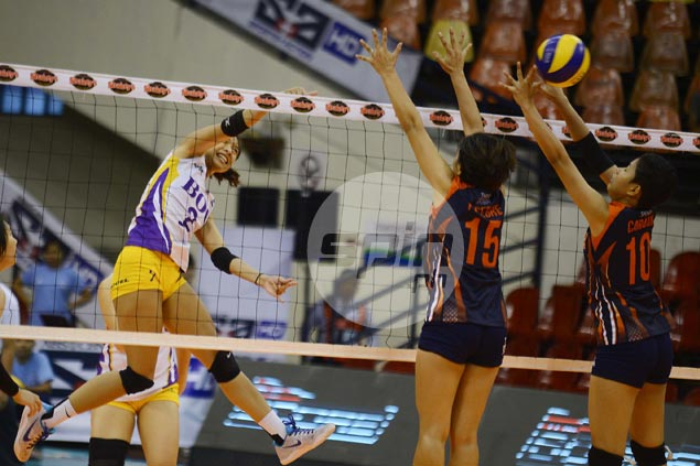 Alyssa Valdez-led Customs marches on to semifinals with rout of winless Coast Guard
