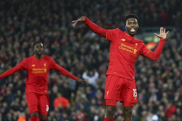 Sturridge, Oxlade-Chamberlain seize League Cup opportunities to power Liverpool, Arsenal to quarters