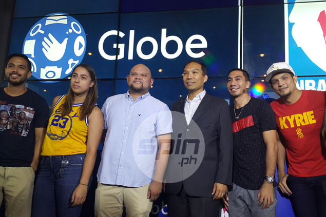Globe unveils new partnership, improved app for easier, mobile access to NBA games