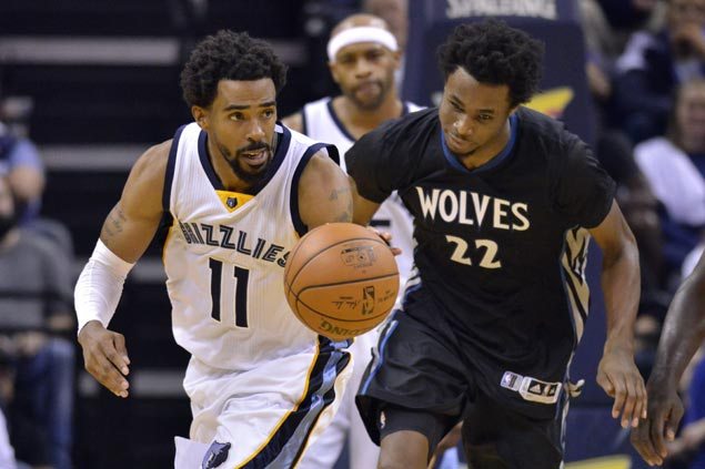 Conley, Gasol lead late rally to help Grizzlies buck slow start and take down Timberwolves