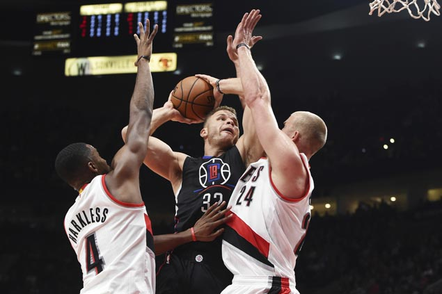 Blake Griffin double-double, CP3 all-around game propel Clippers over Trail Blazers