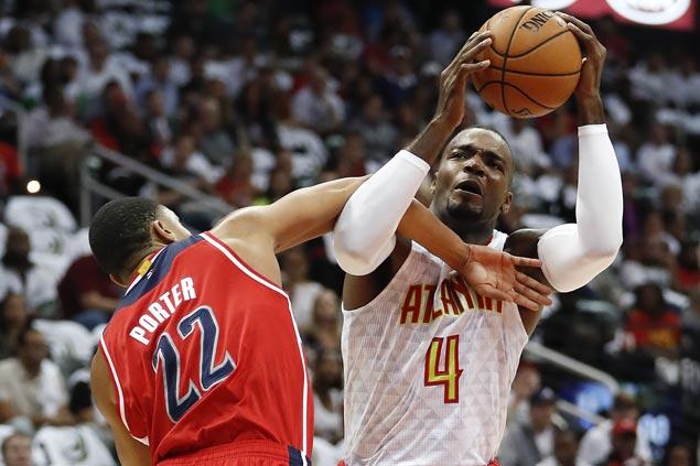 Paul Millsap, Tim Hardaway Jr show way as Hawks defeat Wizards