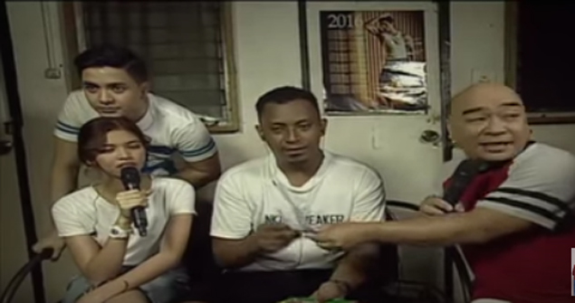 Calvin Abueva's brother Richard Ramsey is big winner in Eat Bulaga! 'Sugod Bahay' segment