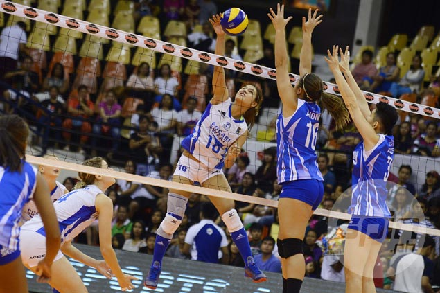 Myla Pablo vows to improve and ease scoring load on Pocari imports as V-League enters semis