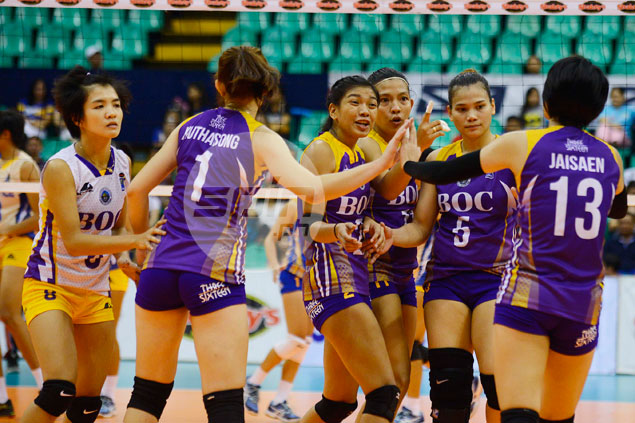 Customs, BaliPure face off one last time for spot in V-League finals