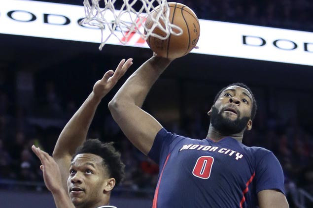 Andre Drummond 20-20 game powers Pistons to big victory over Bucks