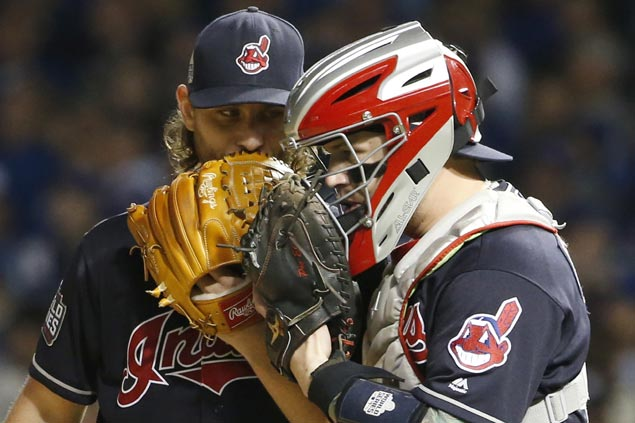 Josh Tomlin starts on short rest as Indians try to finish World Series at home
