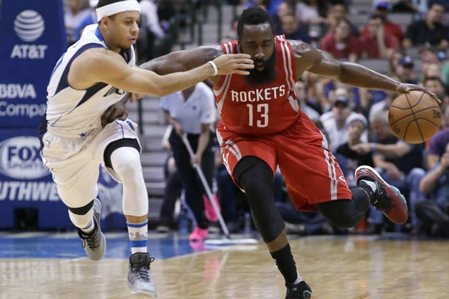 Harden delivers clutch heroics as Rockets survive furious late-game rally to keep Mavs winless