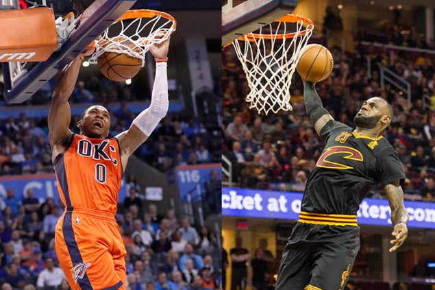 Westbrook named West Player of the Week as LeBron tops the East