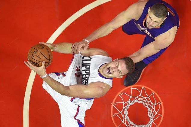 Lob City in full effect as Griffin, Jordan lead Clippers soar past winless Suns