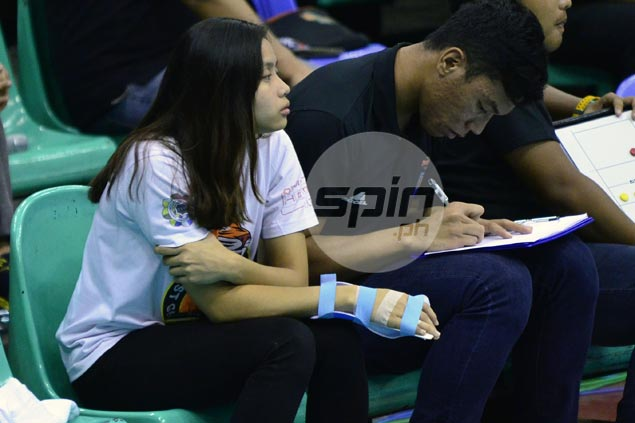 UST star Carla Sandoval unsure if she can recover in time for crucial V-League match