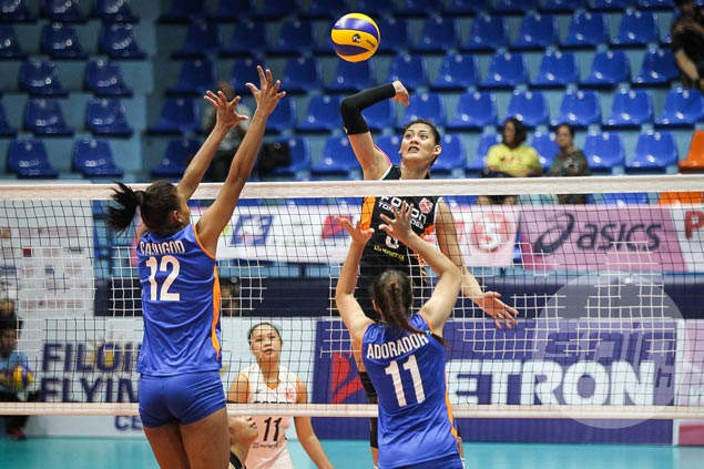Titleholders Foton Tornadoes prove too much for winless Generika Lifesavers