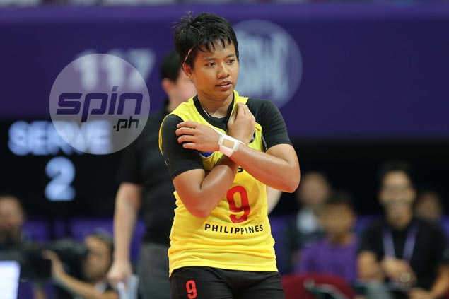 Kim Fajardo yet to make up her mind on playing final season with La Salle spikers