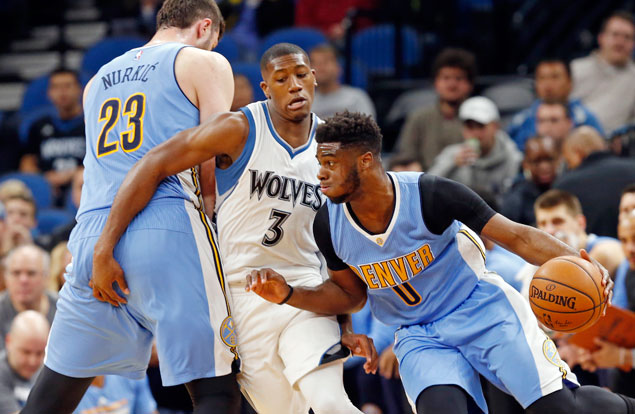 Minnesota blows another big lead as Nuggets rally from 15-points down to beat Timberwolves