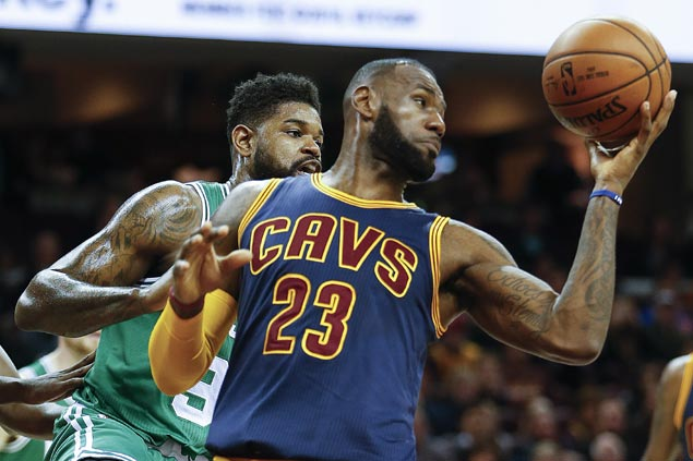 Big Three leads Cavaliers past depleted Celtics for best start in 40 years